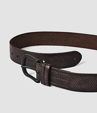 Mens Ether Belt (Bitter Brown) - product_image_alt_text_4