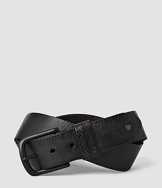 Hombres Ether Belt (Washed Black)
