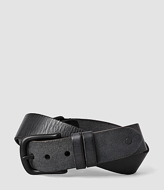 Herren Hitch Belt (Washed Black) -