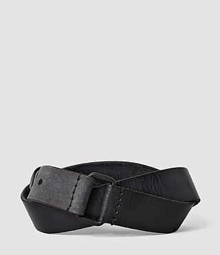 Uomo Hitch Belt (Washed Black) - product_image_alt_text_2