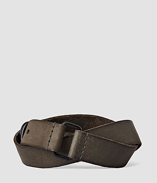 Uomo Hitch Belt (Charcoal) - product_image_alt_text_2