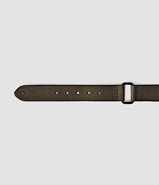 Uomo Hitch Belt (Charcoal) - product_image_alt_text_4