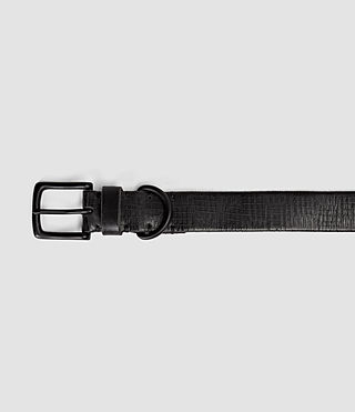 Mens Hatch Slim Belt (Washed Black) - product_image_alt_text_3