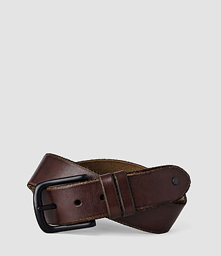 Uomo Echo Belt (Choc) -
