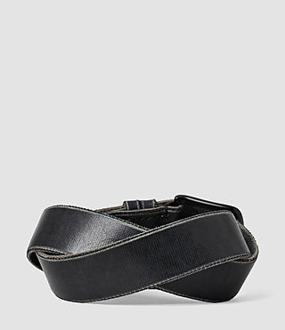 Men's Echo Belt (Black) - product_image_alt_text_2