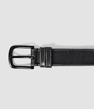 Men's Echo Belt (Black) - product_image_alt_text_3