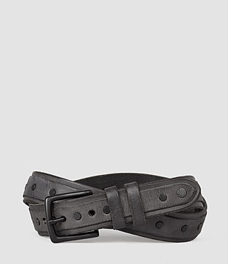 Men's Croft Slim Belt (MOUNTAIN GREY)