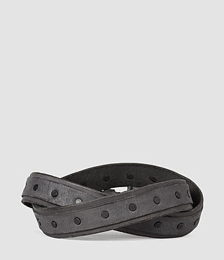 Mens Croft Slim Belt (MOUNTAIN GREY) - product_image_alt_text_2