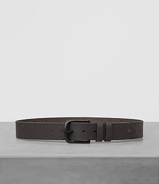 Mens Fort Leather Belt (Bitter Brown) - product_image_alt_text_1