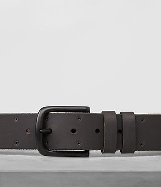 Mens Fort Leather Belt (Bitter Brown) - product_image_alt_text_2