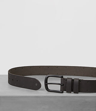 Mens Fort Leather Belt (Bitter Brown) - product_image_alt_text_3