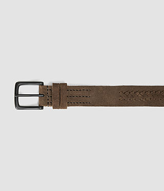 Hombres Arrow Slim Belt (Taupe) - product_image_alt_text_3