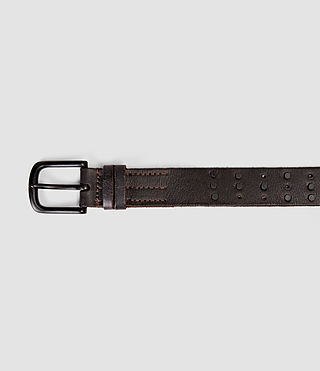 Uomo Delta Stud Belt (Bitter Brown) - product_image_alt_text_3