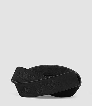 Mens Wreath Belt (Black) - product_image_alt_text_2