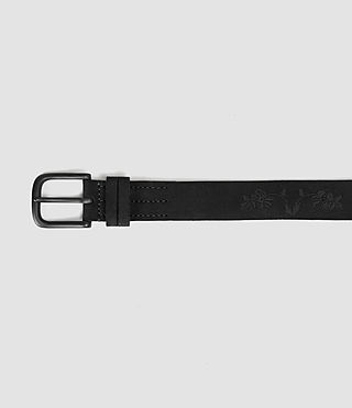 Mens Wreath Belt (Black) - product_image_alt_text_3