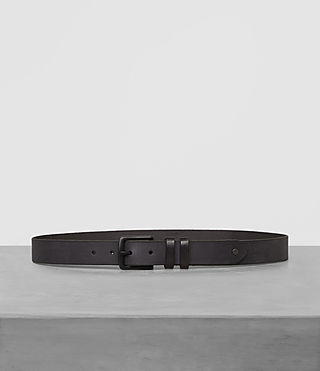 grove slim leather belt
