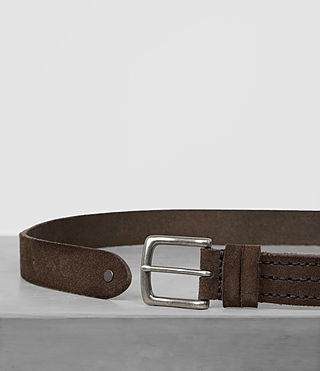 Hombre Tract Slim Belt (Dark Taupe) - product_image_alt_text_3