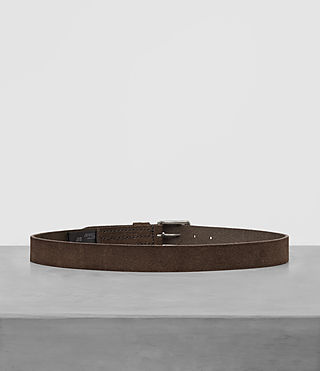 Hombre Tract Slim Belt (Dark Taupe) - product_image_alt_text_4