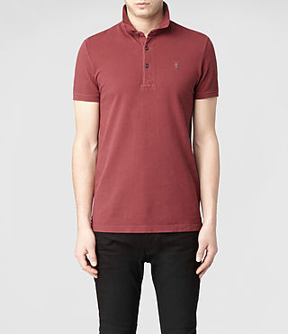 Mens Sandringham Polo (Washed ink) - product_image_alt_text_1