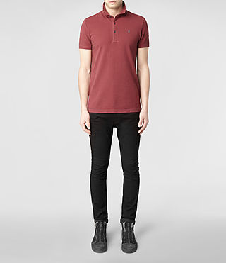 Mens Sandringham Polo (Washed ink) - product_image_alt_text_2