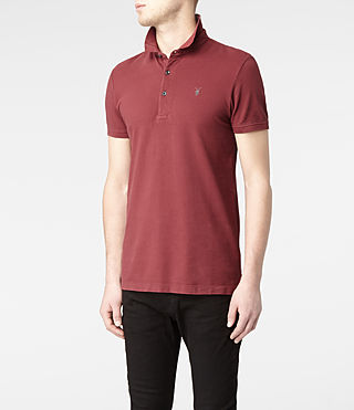 Mens Sandringham Polo (Washed ink) - product_image_alt_text_3