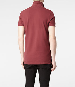 Mens Sandringham Polo (Washed ink) - product_image_alt_text_4