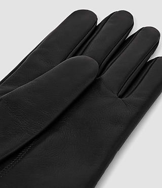 Herren Yield Leather Gloves (Black) - product_image_alt_text_2
