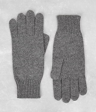 Herren Killick Gloves (Grey Marl) -