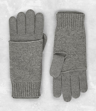 Mens Yukon Gloves (Grey Marl)