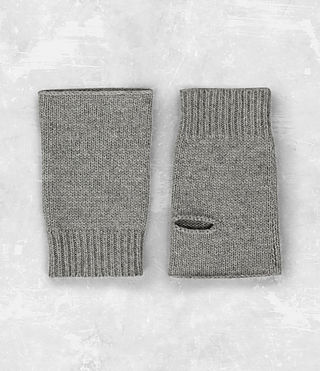 Mens Yukon Gloves (Grey Marl) - product_image_alt_text_5