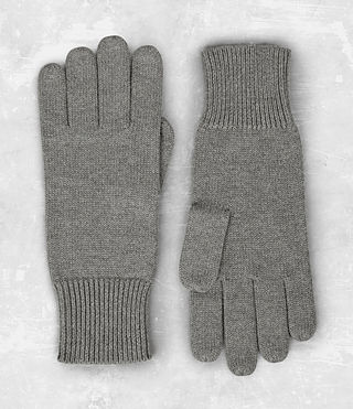 Mens Yukon Gloves (Grey Marl) - product_image_alt_text_6