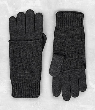 Mens Yukon Gloves (Charcoal Marl) - product_image_alt_text_1