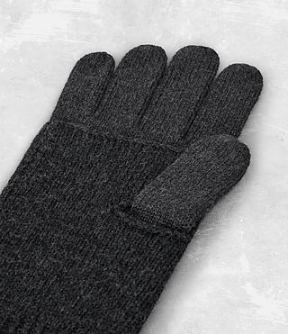 Uomo Yukon Gloves (Charcoal Marl) - product_image_alt_text_4