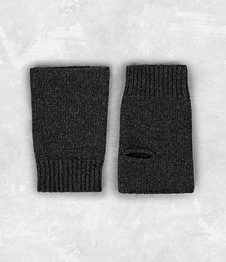 Mens Yukon Gloves (Charcoal Marl) - product_image_alt_text_5