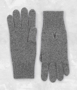 Mens Klymore Gloves (Grey Marl) - product_image_alt_text_1
