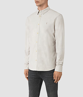 Herren Hungtingdon Shirt (Ash Grey) - product_image_alt_text_2