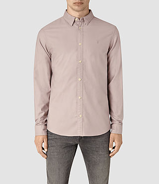 Mens Hungtingdon Shirt (Pink) - product_image_alt_text_1