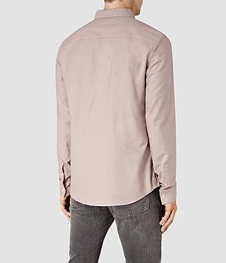 Mens Hungtingdon Shirt (Pink) - product_image_alt_text_3