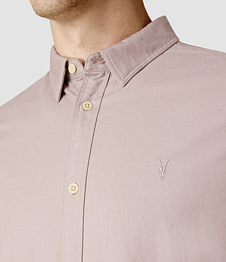 Mens Hungtingdon Shirt (Pink) - product_image_alt_text_4
