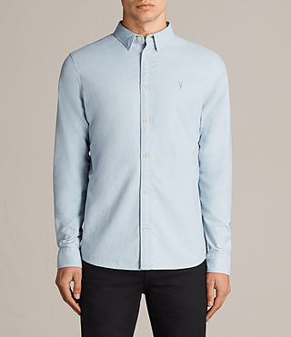 Mens Hungtingdon Shirt (Sky Blue) - Image 1