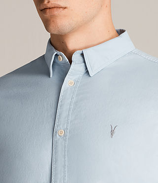 Mens Hungtingdon Shirt (Sky Blue) - Image 2