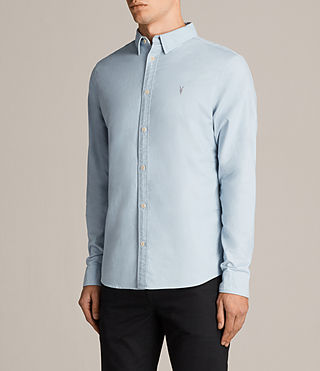 Mens Hungtingdon Shirt (Sky Blue) - Image 3