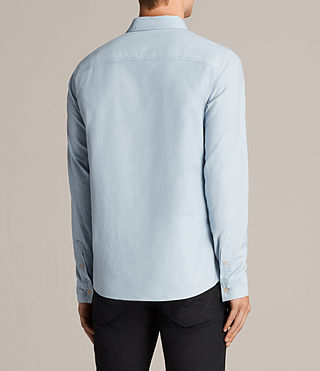 Mens Hungtingdon Shirt (Sky Blue) - Image 5