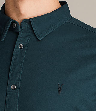 Hombres Hungtingdon Shirt (OIL BLUE) - Image 2
