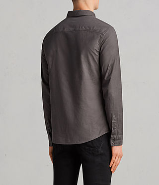 Hommes Hungtingdon Shirt (HEATH GREY) - Image 4