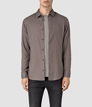 Uomo Bixby Shirt (Slate Grey) -