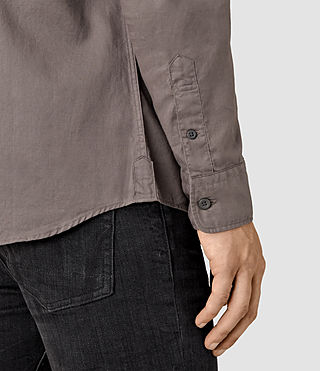 Mens Bixby Shirt (Slate Grey) - product_image_alt_text_3