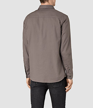 Mens Bixby Shirt (Slate Grey) - product_image_alt_text_4