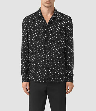 Mens Yuma Shirt (Black) - product_image_alt_text_1