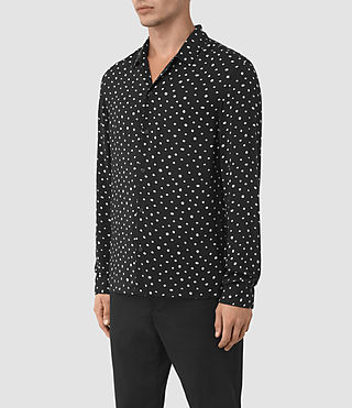Mens Yuma Shirt (Black) - product_image_alt_text_2